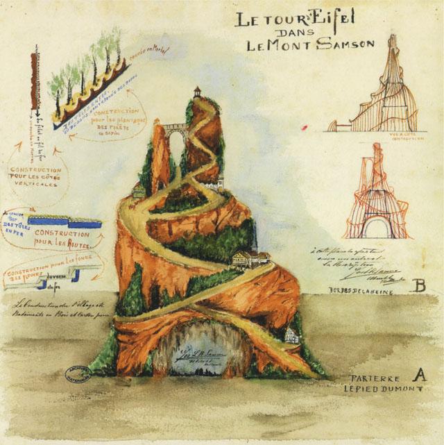 Nationaal Archief, Parijs site 12 F 4445E, Le Mont Samson